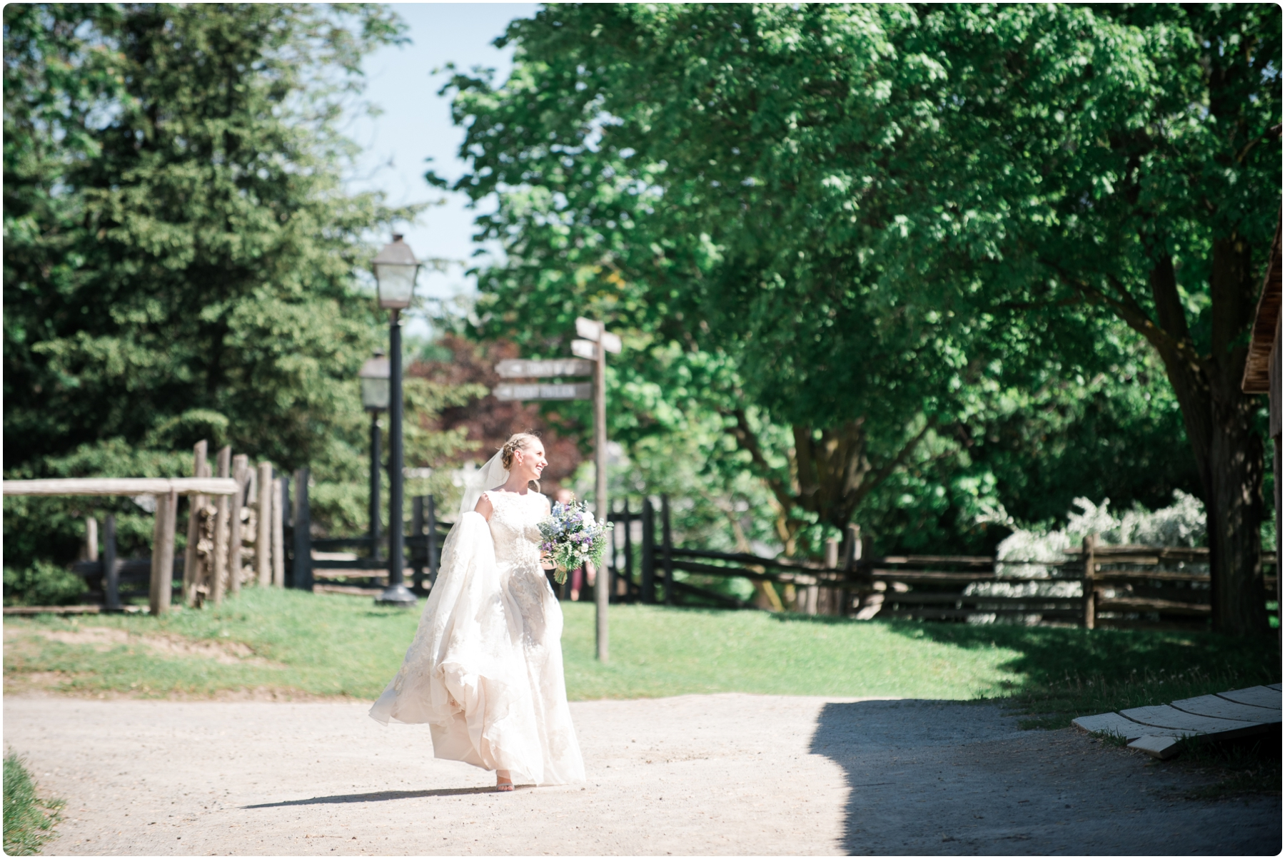 Black Creek Pioneer Village Wedding- Agata & Chris_0188