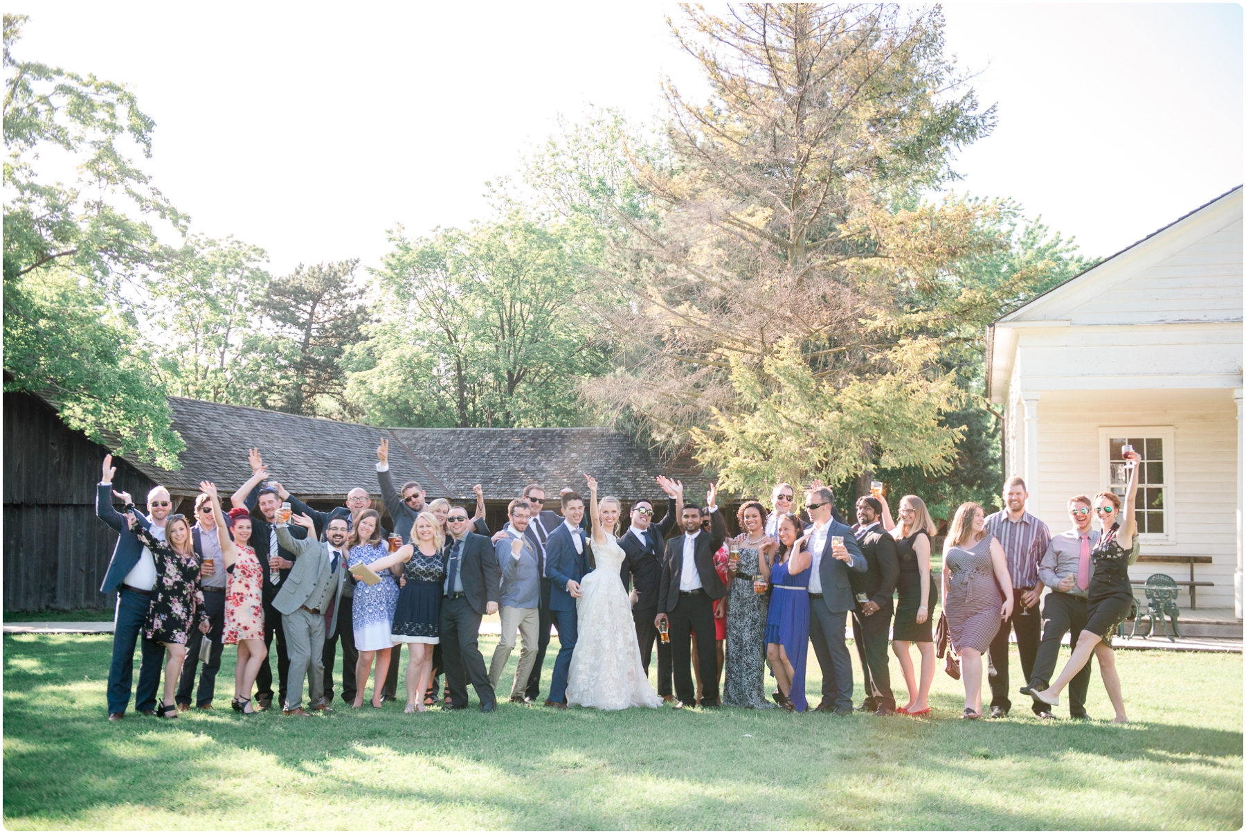 Black Creek Pioneer Village Wedding- Agata & Chris_0244